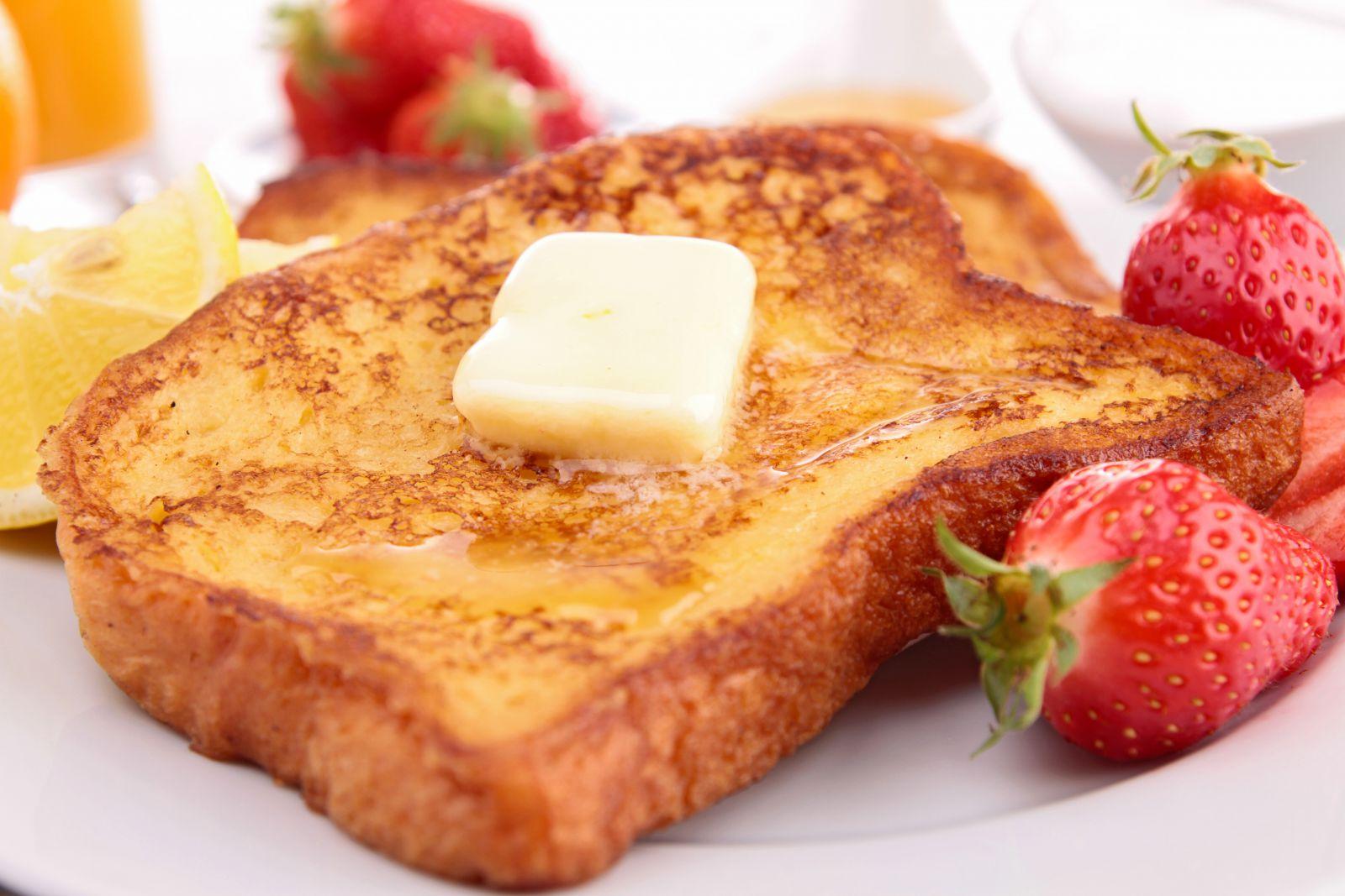 Strawberry Cream Cheese French Toast